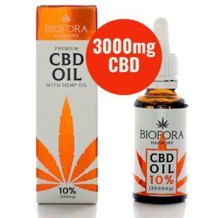 Biofora Harmony Prémium 10%-os (3000 mg) CBD olaj kenderolajjal