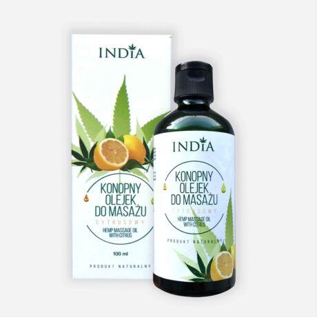 India masszázsolaj citrus