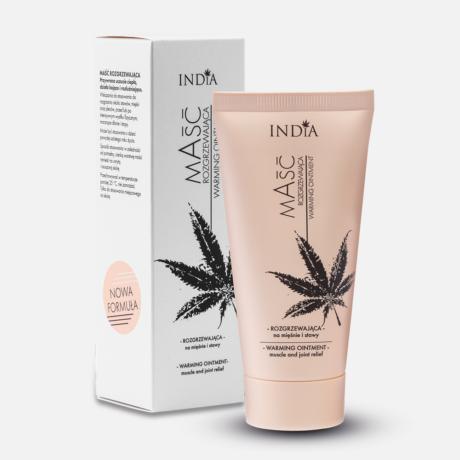 India Cosmetics Masc melegítő kenderkenőcs 50 ml