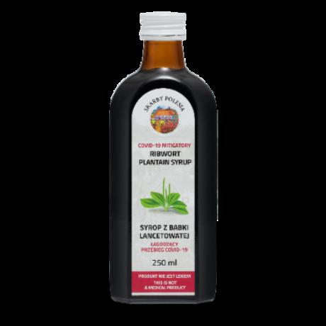 Skarby Polesia Lándzsás Útifűszirup I 250 ml