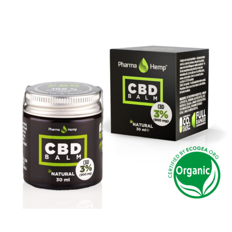 Pharmahemp 3%-os (900 mg) CBD balzsam, 30 ml